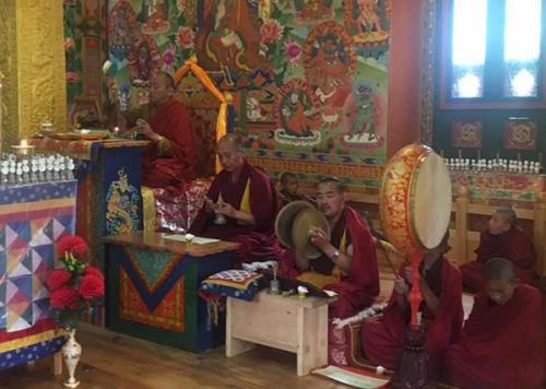 Dharma's teaching in accordance to the day when the Buddha Shakyamuni first turned the wheel of dharma.